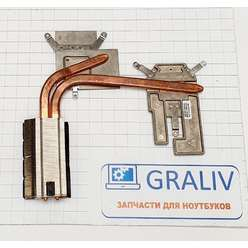 Радиатор системы охлаждения, термотрубка ноутбука DNS MB50IA, 20B390-FM2010 MB50IA-35W-GPU