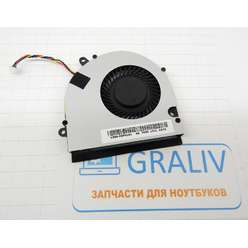 Кулер, вентилятор ноутбука DNS A17HC (0138595) A15FD, A17HC, MSI CX70, CX640 KSB06105HB -AK7B