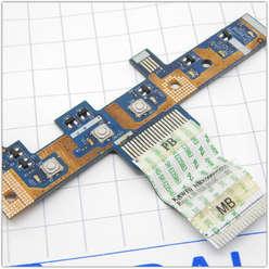 Плата включения, панель включения, кнопка старта ноутбука Acer Aspire 5334, 5516, 5517, 5532, 5541, eMachines E525 E625 ls-4851p