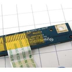 Плата включения, панель включения, кнопка старта ноутбука Acer Aspire 5520, 7520, 7720   LS-3557P ICL50 NBX0005G00