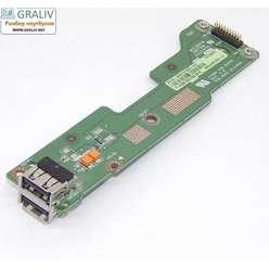 USB плата ноутбука Asus K72D 60-NZWUS1000-C01