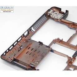 Нижняя часть корпуса, поддон ноутбука Asus A52J 13N0-GUA0211