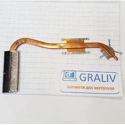 Радиатор системы охлаждения, термотрубка ноутбука Asus X550, X550LD 13NB02G1AM0101-145E