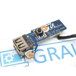 Кнопка включения, USB плата ноутбука Samsung R530 BA92-05996A