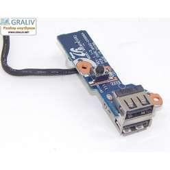 Кнопка включения, USB плата ноутбука Samsung R525 R528 R530 R525 R540 R580 RV508 RV510 BA92-05996A