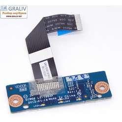 Панель кнопок тачпада ноутбука Lenovo G580 G585 LS-7984P