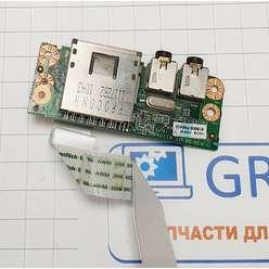 Доп. плата картридер, аудио ноутбука DNS MB50I, 81B605-FBA02
