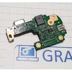 Доп. плата с разьемом питания, usb, ноутбука Dell Inspiron N5110, M5110 DQ15DN15 CRT 48.4IE06.021