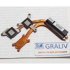 Радиатор системы охлаждения, термотрубка ноутбука Samsung R700, R710, BA62-00451B