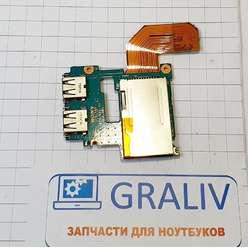 Доп. плата с USB, картридер, ноутбука Sony Vaio VGN-TZ 1-873-982-11