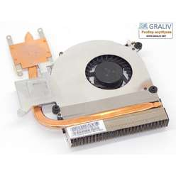 Система охлаждения ноутбука Asus K61IC 13N0-ENA0202
