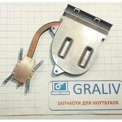Радиатор системы охлаждения, термотрубка ноутбука Lenovo G50 G50-30, AT0U40010W0