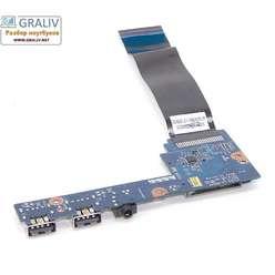 Дочерняя плата USB ноутбука Lenovo s300, s400, s405 LS-8953P