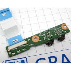 Плата модуль звука для ноутбука HP Compaq Presario CQ61, CQ71 DA00P6AB6D0