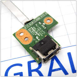 Плата USB разъемов  HP Pavilion G62 01013JS00-388-G
