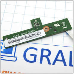 Кнопка старта, включения ноутбука Asus K53SD POWER BOARD