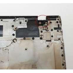 Палмрест верхняя часть корпуса ноутбука с клавиатурой Samsung NP300E5A, BA75-0350N