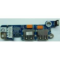 Плата расширения USB LS-3551P для ноутбука Acer Aspire 5315, 5520, 7520, 7720