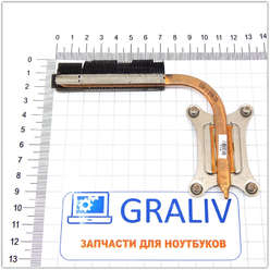 Система охлаждения, трубка охлаждения ноутбука Samsung NP300E5C, BA62-007108
