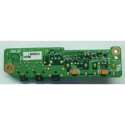 USB плата расширения для ноутбука Asus X50S , 14g140167210, m50s io bd  с аудио разъемами