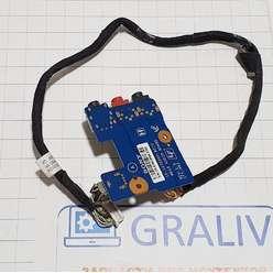 Доп. плата usb audio ноутбука Sony Vaio VGN-AR PCG-8113P 1P-1072500-8010