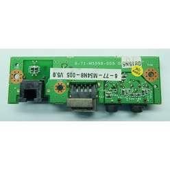USB плата расширения с аудио разъемами Cleo 6-71-m55n8-005
