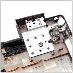 Нижняя часть корпуса ноутбука, поддон Lenovo B590, B580, 60.4XB02.001, 60.4TE04.002