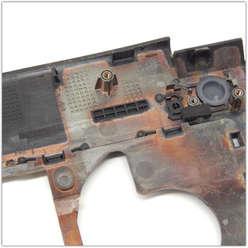 Верхняя часть ноутбука, палмрест Lenovo B590, B580, 60.4XB01-002