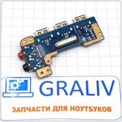 Планка расширения USB ноутбука Sony VAIO PCG-61611V, DA0NNE7TB6D0