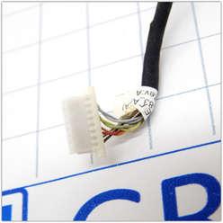 LAN разъем на шлейфе ноутбука Sony Vaio PCG-91111V