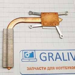 Радиатор системы охлаждения, термотрубка ноутбука DNS 118740, 118742, 6-31-С480Т-201