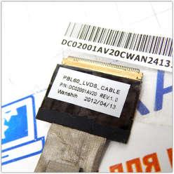 Шлейф матрицы Asus X53U, DC02001AV10