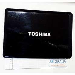 Крышка матрицы ноутбука Toshiba A350D, A350, A355, AP5S001K00