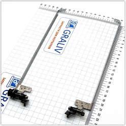 Петли для ноутбука Packard Bell TJ-65, 34.4BU09.001, 34.4BU10.001