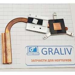 Радиатор системы охлаждения, термотрубка ноутбука DNS 118740, 118742, 6-31-С450N-020