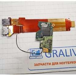 Доп. плата с USB разьемами ноутбука Sony SVZ1311V9RX, 1-886-557-11