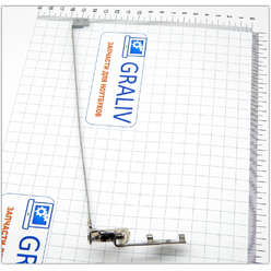 Петля левая для ноутбука Lenovo G570, G575, AM0G000100