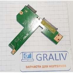 Доп. плата, переходник на HDD, DVD ноутбука Asus X540L, X540 серии X540LJ