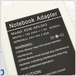 Блок питания для ноутбука APPLE 24V 2.65A 65W