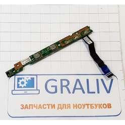 Кнопка включения ноутбука Lenovo Ideapad S12, 55.4CK04.001G