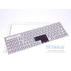 Клавиатура для ноутбука DNS 0801188, C15B (0801143), MP-13A83SU-5283