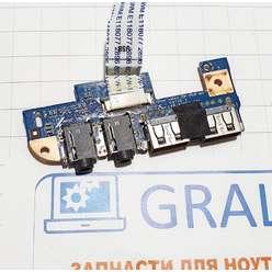 Доп. плата usb, audio ноутбука eMachines D440, D640, 48.4GW02.031