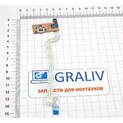 Панель включения, кнопка старта ноутбука Acer Aspire E1-532, E1-570, E1-572, Packard Bell ENTE69 LS-9531P
