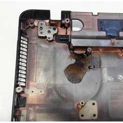 Нижняя часть корпуса, поддон ноутбука TOSHIBA L750 L755, ZYE35BLDBA0I