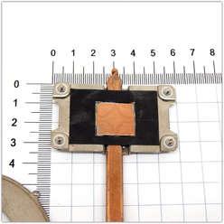 Система охлаждения, радиатор с трубкой ноутбука DNS TWHA (0133840), FCN3TTWHTA