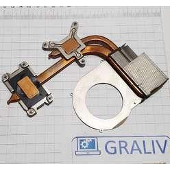 Система охлаждения, радиатор с трубкой ноутбука DNS TWHA (0138794), FCN3TTWHTA0020