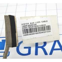 Шлейф матрицы Asus X101, X101C, X101H 14005-00300100