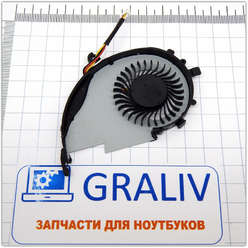 Вентилятор (кулер) для ноутбука Acer Acer V5-552G, V5-572G, DFS400805PB0T