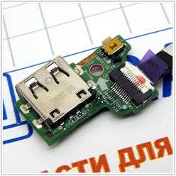 Кнопка включения + USB плата ноутбука Acer V5-552G, 3JZRIUB0000