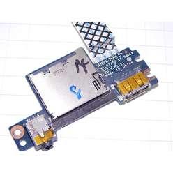 Плата модуль звука, картридера, USB, Lenovo G505S, LS-9901P